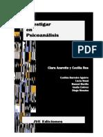 Investigar en psicoanálisis. Edición (1)