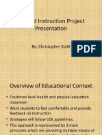 applied instruction project presentation