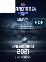 Calendario Liga Mx Guard1anes 2021