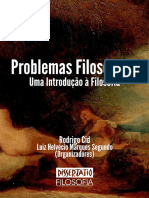 PROBLEMAS FILOSÓFICOS - uma introdução à filosofia