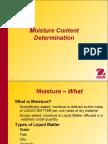 Moisture Content Determination