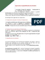Chapitre3 Compressions et Quantifications des données.pdf