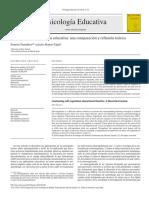 Teorías de autorregulación educativa una comparación y reflexión teórica
