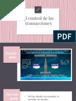 El control de las transacciones