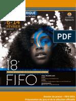 Programme FIFO 2021