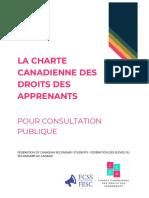 Charte Canadienne des Droits des Apprenants