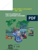 EOLSS Publications Catalogue