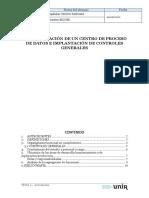 Actividad 01  -Estructuración de un centro de proceso de datos e implantación de controles generales