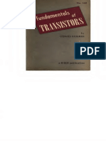 Fundamentals of Transistors by Leonard M. Krugman