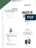 Creswell Projeto Pesquisa Parte II