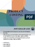 44377018 Product Costing
