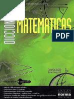 Diccionario De Matematicas - Ed. Normal
