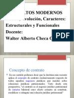 CONTRATOS MODERNO DEFINICION HISTORIA CARACTERES