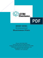 ctrl customz business plan