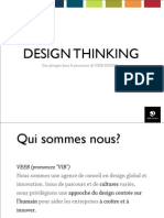 Design Thinking par VEEB DESIGN - Design global et stratégie d'innovation