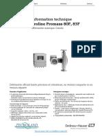 fiche_technique_Debitmetre_80F_endress_hauser