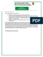 MODULE 5 - FINANCIAL ASPECT