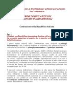 12 articoli costituzione commento