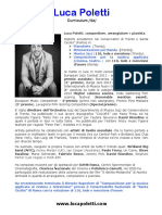 LUCA POLETTI - Curriculum 11/2020