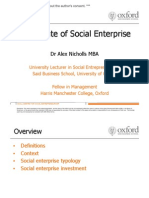The State of Social Enterprise