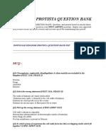KINGDOM-PROTISTA-QUESTION-BANK