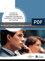 Advanced Diploma in Management Practice