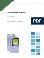 WEG_Variateur-Vitesse_cfw500-Guide-rapide_Fr-FR