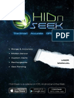 HidnSeek ST1 User Manual