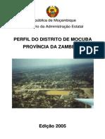 2005 - Perfil do Distrito de Mocuba