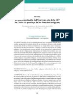 Quilaleo, F. La implementación del Convenio 169 de la OIT en Chile