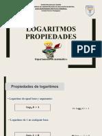 Apoyo Guía 10  2° medio Prop. logaritmos