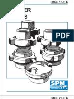 SPM hammer union chart