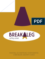 Manual de Identidad Corporativa. Breakaleg
