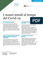 I musei statali al tempo del covid-19
