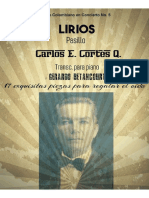 LIRIOS. Pasillo. Carlos E. Cortés Quiroga. Transc. piano Gerardo Betancourt.
