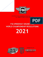 FIM Speedway Grand Prix World Championship Rulebook - 16.12.2020
