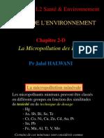 cours chimie environnement - chap 2d