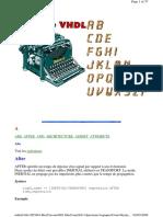 Syntaxe-VHDL