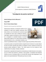 Investigación de puertos maritimos