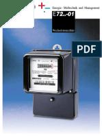 Energie- Meßtechnik und Management E Wechselstromzähler