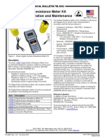 TB-3062  Surface Resistance Tester
