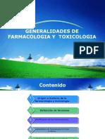 Generalidades toxicologia