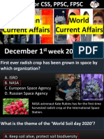 Current Affairs December 1st Week 2020 .pdf