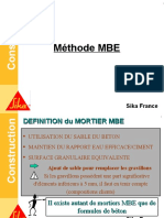 Formation Béton - 6 Méthode MBE