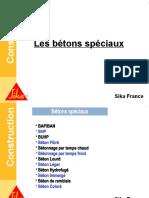Formation Béton - 8 Les Bétons Spéciaux