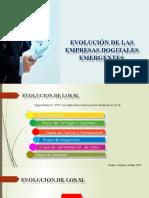 EVOLUCION DE LAS EMPRESAS DIGITALES EMERGENTES