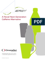 Novel caffeine formulation
