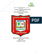 PEI LOS ALPES 2019-2024 ACTUAL