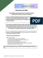 SPA- Physical Quadrant 2020 Focus  December 2020