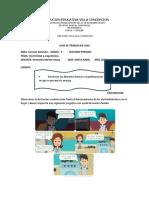 GUIA DE TRABAJO DE NATURALES   -   ELECTRICIDAD Y MAGNETISMO    3°